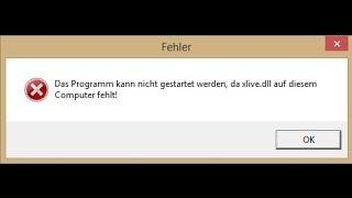 xlive.dll Fehlermeldung/Fehler beheben/entfernen [German HD Tutorial]