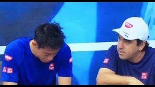 ABNアムロ世界テニストーナメントでは残念ながら準決勝でワウリンカに負...