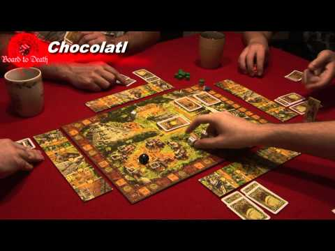 Chocolat Board Game Video Review