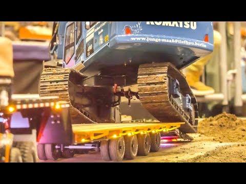 RC Truck ACTION! Excavator Heavy Haul!