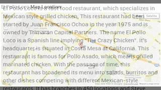 El Pollo Loco Corporate Office Contact Information Thumbnail