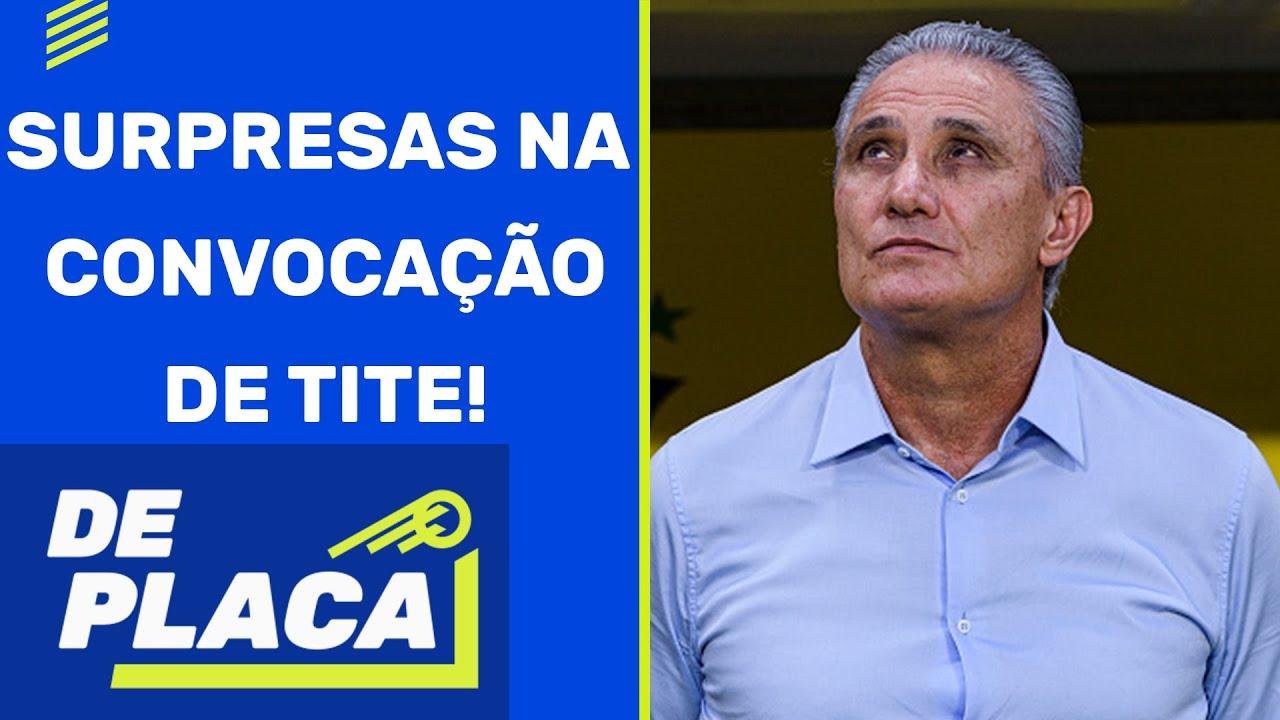 CONVOCAÇÃO da SELEÇÃO BRASILEIRA: GABIGOL e DANI ALVES na LISTA | De Placa (14/05/21)
