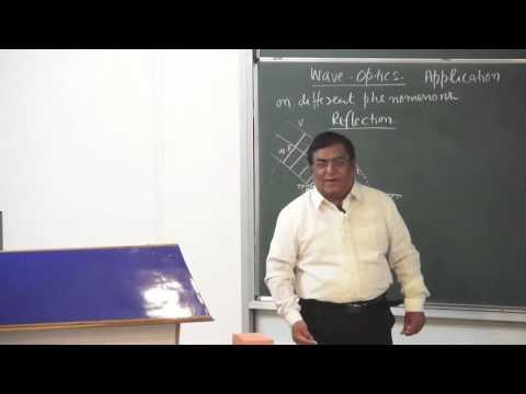 XII-10-2 Reflection And Refraction Of Waves (2015) Pradeep Kshetrapal Physics