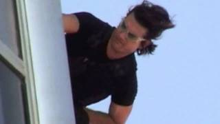 Tom Cruise Burj Khalifa Mission Impossible Ghost Protocol Dubai Stunts