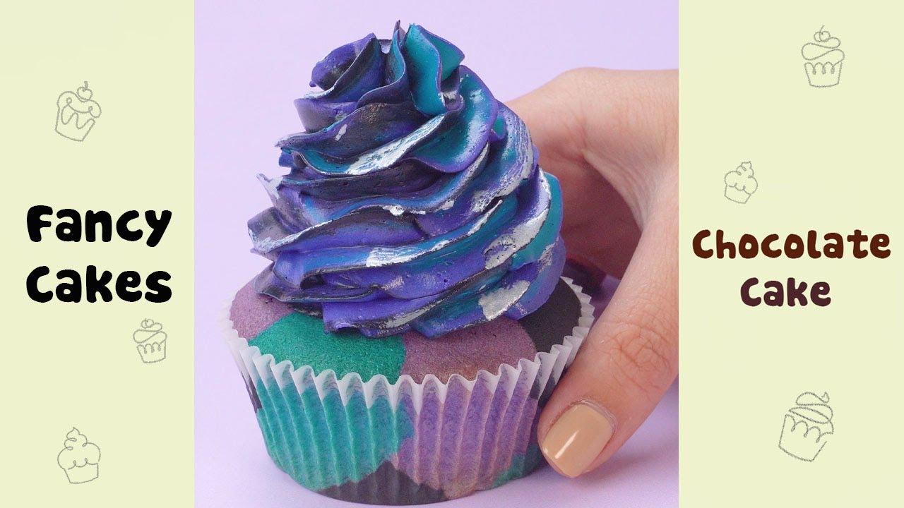 Amazing Galaxy Cupcake Decorating #shorts