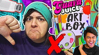 JUNK! DON'T BUY! 15 REASONS GUAVA JUICE ART BOX Kit is NOT worth it SaltEcrafter#34