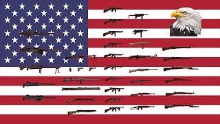 Пехотное оружие США во время второй мировой войны!