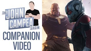 Why The Ant-Man/Thanos Theory Wouldn't Work - TJCS Companion Video