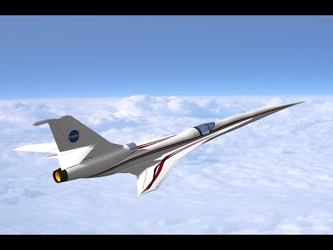 NASA wants to build a silent supersonic aircraft