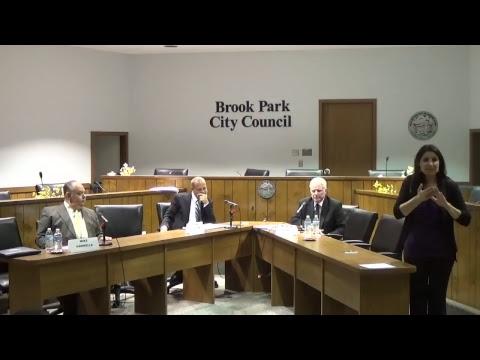 Brook Park Mayoral Debate 09/28/2017