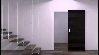 Система открывания Чост - межкомнатные двери Профил Доорс Алматы Казахстан(Призрак – именно так переводится название данной системы. Скользящая вдоль стены дверь, создаёт эффект..., 2015-09-28T05:56:01.000Z)