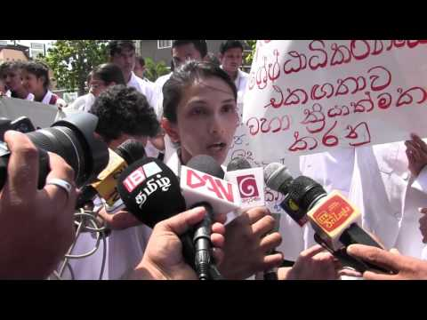 Private medical  students demand Sri Lanka state facilities