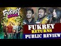 Fukrey Returns (Public Review) Pulkit Samrat | Varun Sharma | Manjot Singh | Dainik Savera