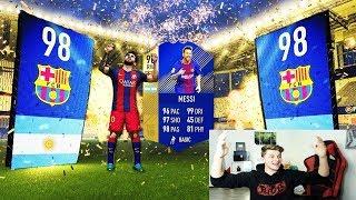 MESSI + TOTY in meinen bislang BESTEN FIFA 18 PACK OPENINGS! 🔥🔥 Ultimate Team Deutsch