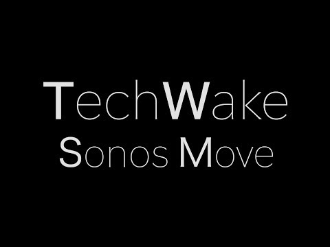 Sonos Move-A quick review (bluetooth, wifi, Water resistant, portable speaker)