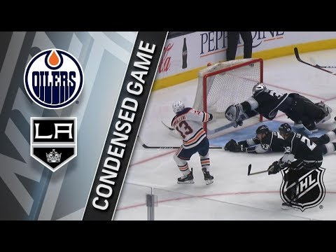 Edmonton Oilers vs Los Angeles Kings – Feb. 07, 2018 | Game Highlights | NHL 2017/18. Обзор матча