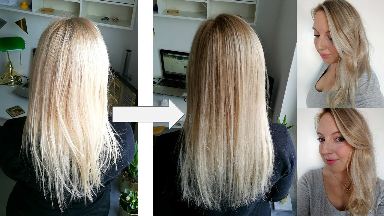 Light Ash Brown Hair With Dark Roots