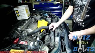 1998-2002 Honda Accord coolant flush