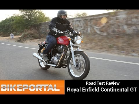 Royal Enfield Continental GT Test Ride - Bikeportal