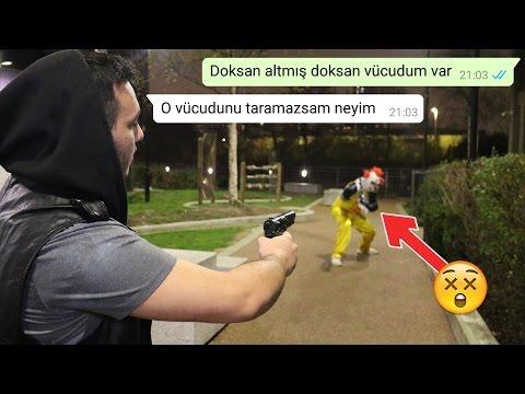 Katil Palyaçoya Şarkı Sözleriyle Mesaj Şakası 'İsmail YK 90 60 90' Rap!