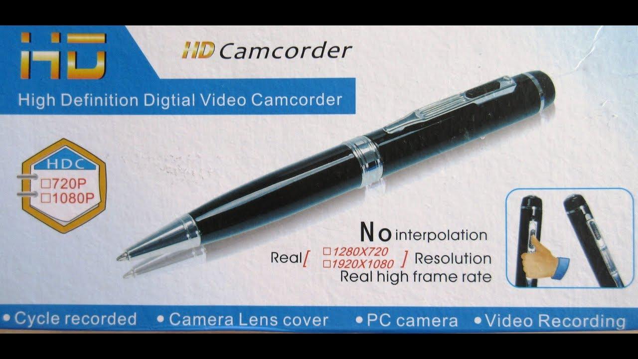 Full HD 1080P DVR Hidden Mini Portable Spy Camera Pen DV Video Recorder Cam USA