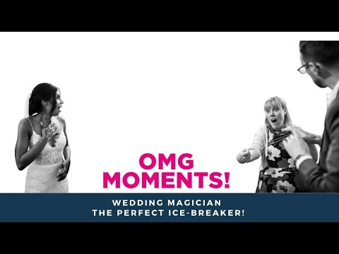 Wedding Magician | Drinks Reception | Ice Breaker | Close-up Chris