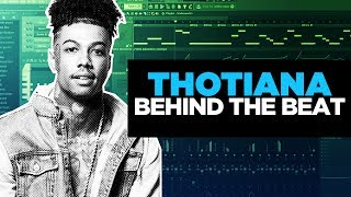 "HOW BLUEFACE'S ""THOTIANA"" WAS MADE IN 2 MINUTES 