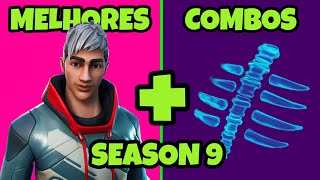 BEST COMBOS WITH ALL BATTLE PASS SKINS 9 FORTNITE: SKINS COMBOS FORTNITE SEASON 9