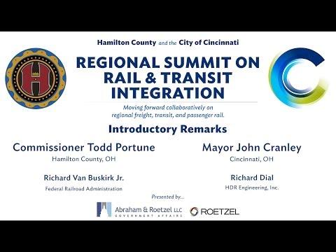 Opening Remarks & Rail Trends Study - Regional Summit on Rail & Transit Integration (1/5)