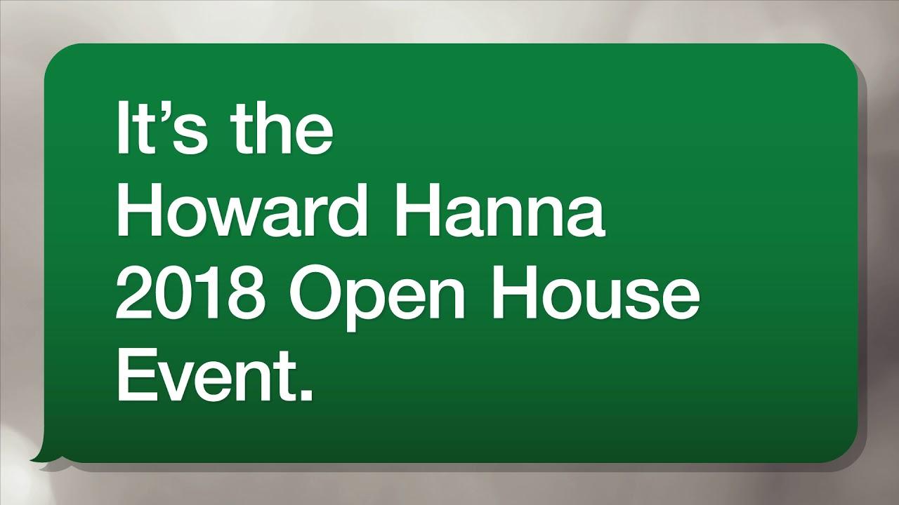 Howard Hanna 2018 Open House Event Youtube