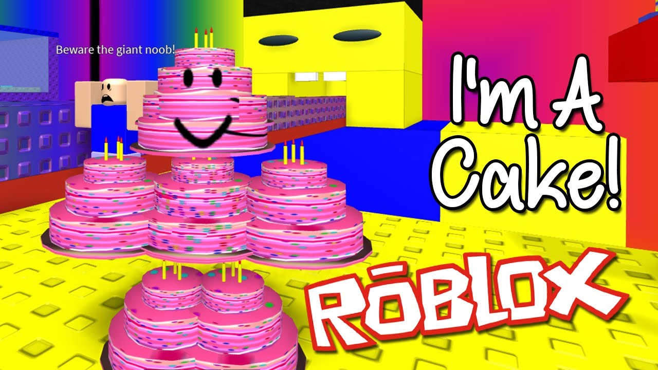 Make A Cake And Feed The Giant Noob Roblox Youtube - Roblox Make A Cake And Feed The Giant Noob I M A Cake Youtube