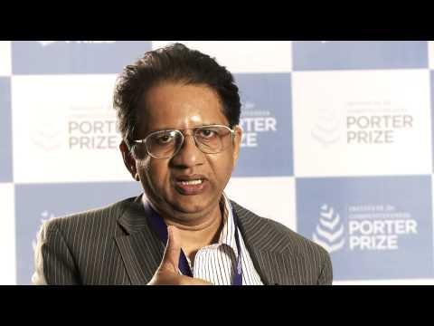 Porter Prize 2014 - CEO Talks: Sanjay Kumar, Consultant, Strategic Controls