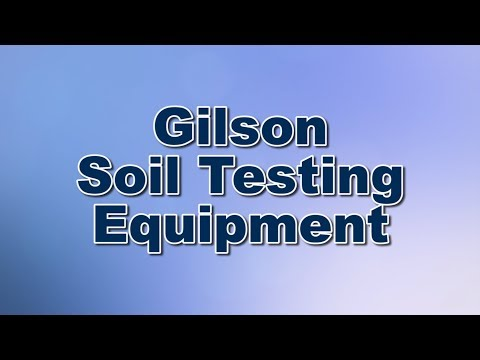 Gilson Soils Testing Equipment