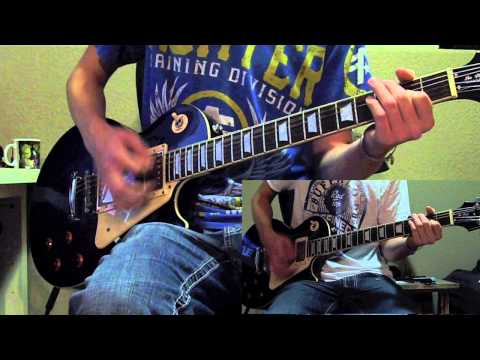 Hinder: Lips of an Angel (Guitar cover) (with solo) HD [atrixx]