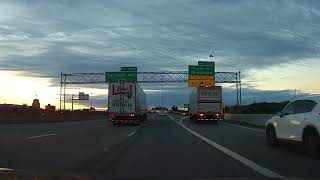 Driving from Cleveland, Ohio to Buffalo, New York on Interstate 90