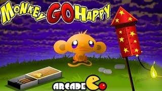 Monkey Go Happy 1 Walkthrough All Levels