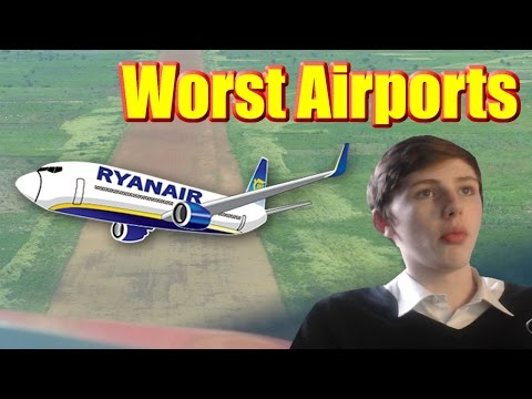 THE WORST EVER AIRPORTS! (Reacting To The Worst Airports Ever)