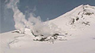 【北海道の絶景】「白い地獄」 大雪山 地獄谷 Jigokudani Heavy snow mountain