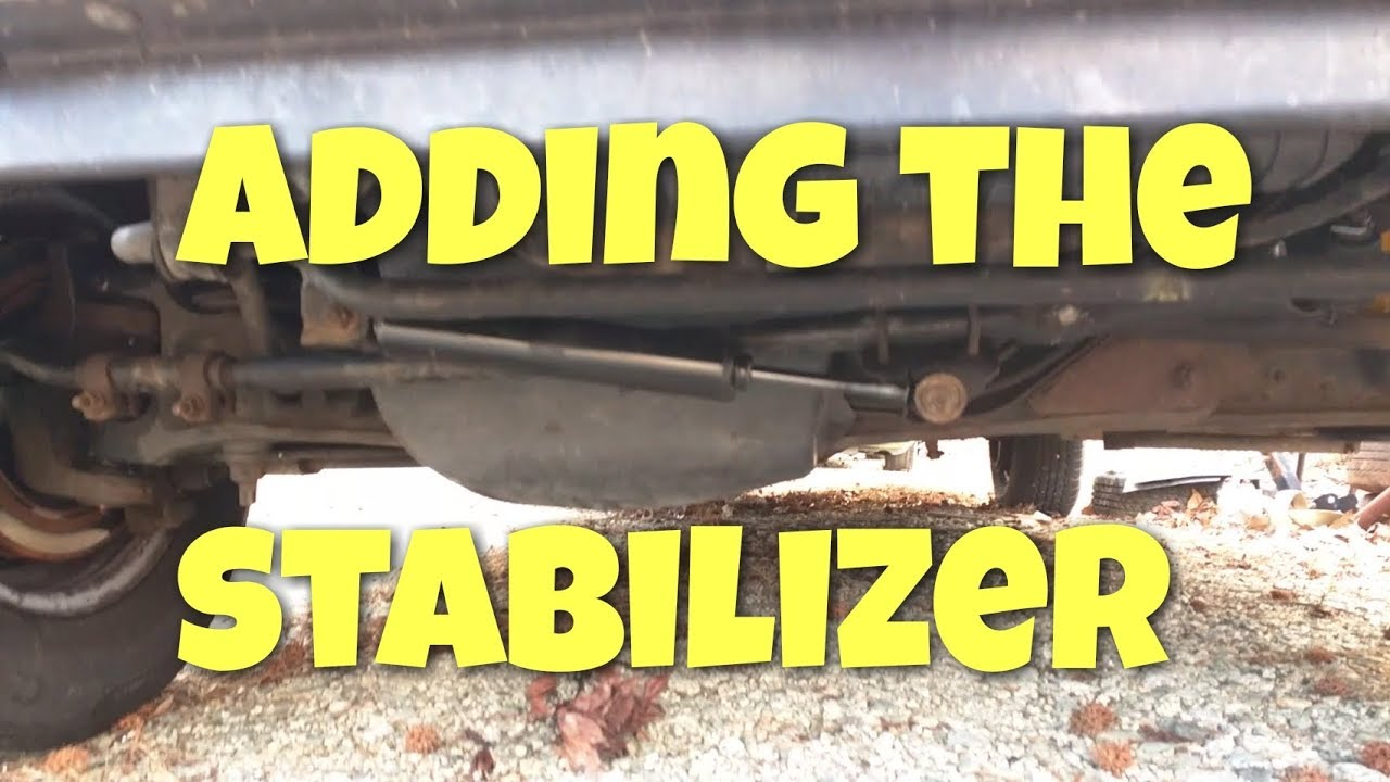 Adding a steering stabilizer to a Ford Econoline Van by Tepco Cycle Repair