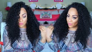 HAIR PORN FOR YOUR ASS    CHEAP AF VIRGIN CURLY LACE FRONTAL WIG ♡ imi hair aliexpress