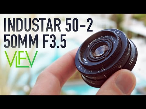 INDUSTAR 5-2 50mm F3.5 Vintage Russian Lens | Overview & Test Footage