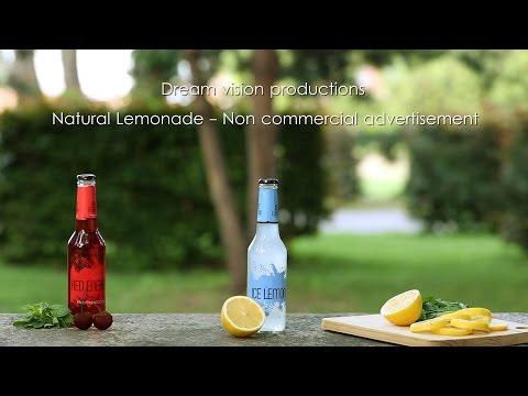 Natural Lemonade   Non commercial advertisement