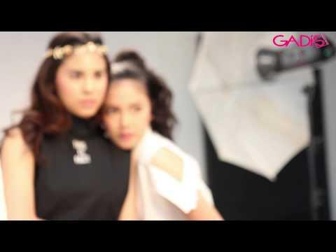 Behind The Scene: Diandra Agatha & Jasmine Krumm for GADISmagz 23/2015