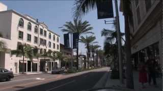 Beverly Hills Rodeo Drive Shopping Shoe Stores Restaurants LA CA