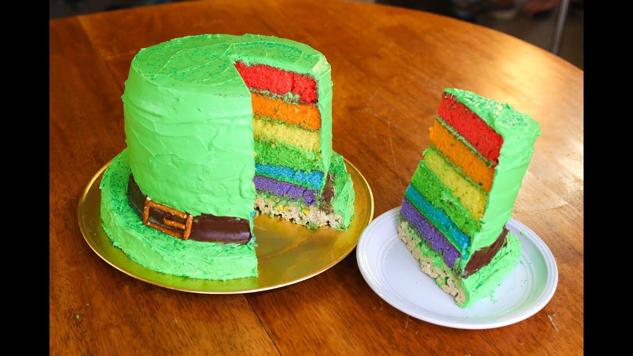 Saint Patrick S Day Cake Youtube