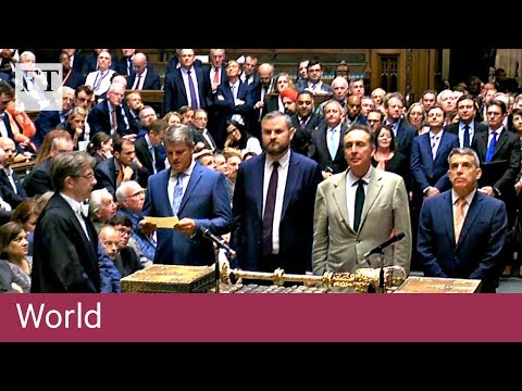 Government wins key Brexit bill vote
