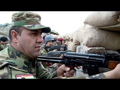Irak ordusu Kürt peşmergelerle Musul'a ilerliyor
