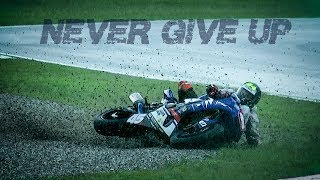 NON MOLLARE MAI ! - Epic moto moments - Cade in moto si rialza e.. motivational video.