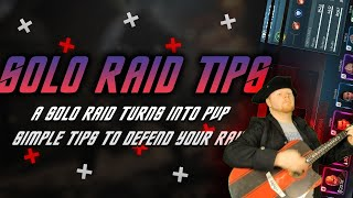 Solo Raid Tips!   Defeฑding your raid vs higher level PVP (distance) on Twitch   STFC Laughs