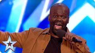 Daliso Chaponda Brought The House Down with LOLZ | Semi Finals 5 | Britain's Got Talent 2017